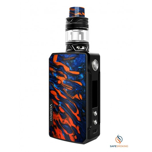ΚΑΣΕΤΙΝΑ - VOOPOO DRAG 2 177W TC KIT WITH UFORCE T2 5ML (B-FLAME)