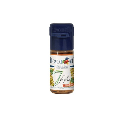ELIQUID - 10ml - FLAVOURART ITALY - 7 LEAVES - 9mg (TPD)