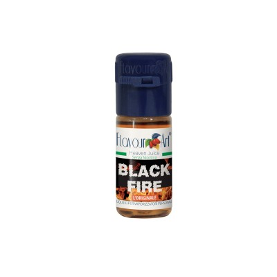 ELIQUID - 10ml - FLAVOURART ITALY - BLACK FIRE - 9mg (TPD)