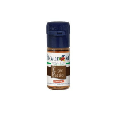 ELIQUID - 10ml - FLAVOURART ITALY - CIGAR PASSION - 18mg (TPD)