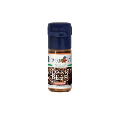 ELIQUID - 10ml - FLAVOURART ITALY - DARK BEAN - 18mg (TPD)