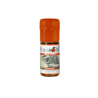 ELIQUID - 10ml - FLAVOURART ITALY - DESERT SHIP - 18mg (TPD)