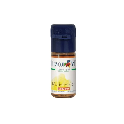 ELIQUID - 10ml - FLAVOURART ITALY - MADAGASCAR - 18mg (TPD)