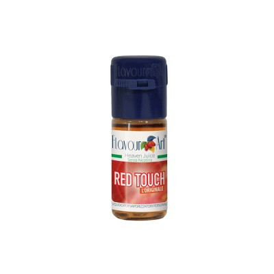 ELIQUID - 10ml - FLAVOURART ITALY - RED TOUCH - 18mg (TPD)
