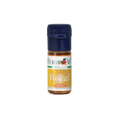 ELIQUID - 10ml - FLAVOURART ITALY - ROYAL - 18mg (TPD)