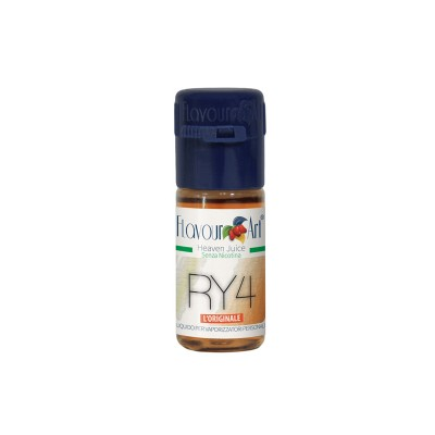 ELIQUID - 10ml - FLAVOURART ITALY - RY4 - 18mg (TPD)