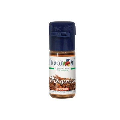 ELIQUID - 10ml - FLAVOURART ITALY - VIRGINIA - 18mg (TPD)