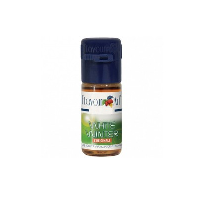 ELIQUID - 10ml - FLAVOURART ITALY - WHITE WINTER - 18mg