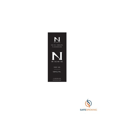 ΠΡΩΤΕΣ ΥΛΕΣ- 10ML - NICOTINE BOOSTER BASE 18mg(NICNIC) 100VG
