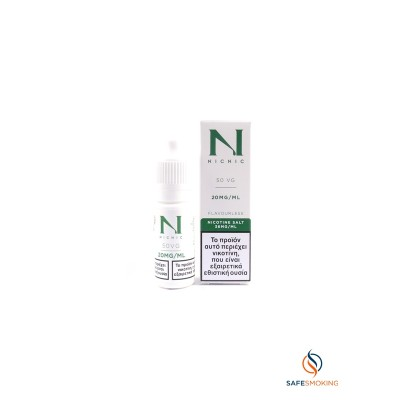 ΠΡΩΤΕΣ ΥΛΕΣ - 10ML- NICOTINE BOOSTER SALT BASE 20mg(NICNIC) 50VG/50PG