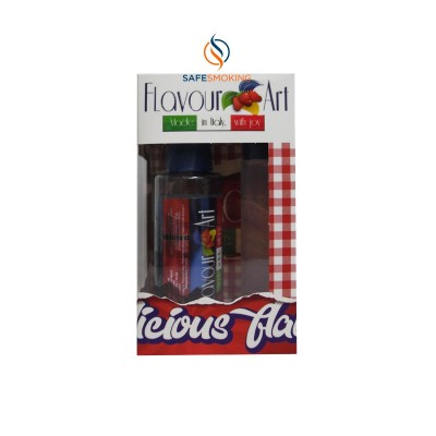 MIX-SHAKE-VAPE - FLAVOURART 60/100ML - COOKIE STRAWBERRY